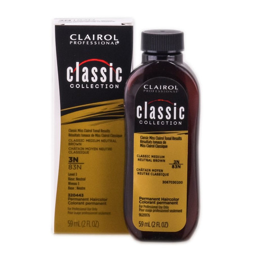 Clairol Classic Collection 3N/83N.