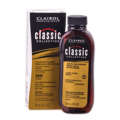 Clairol Classic Collection 3GN/39G.