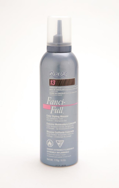 Roux Fanci Full Mousse #13 Chocolate Kiss 6 oz.