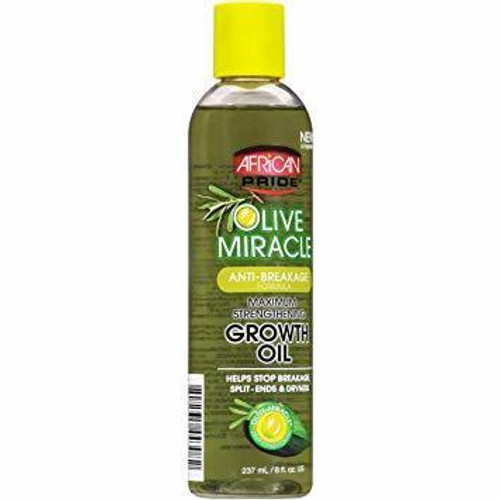 African Pride Olive Miracle Growth Oil 8 oz.
