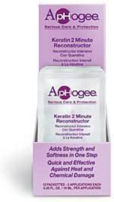 Aphogee Keratin & 2 Minute Reconstructor 0.35 oz.