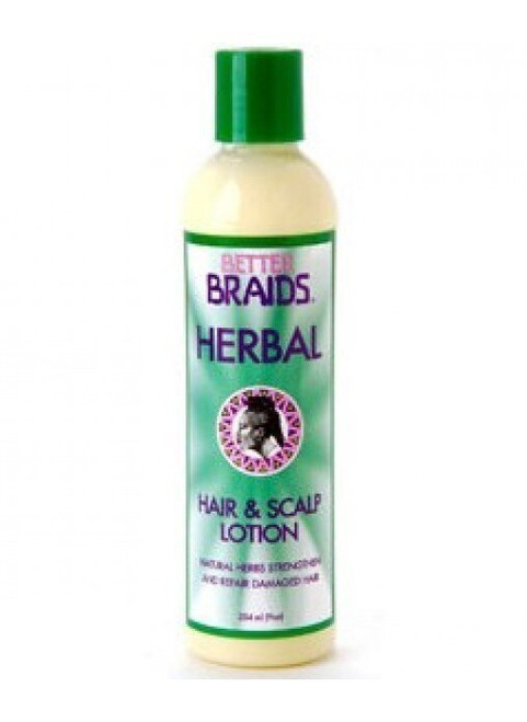 Better Braids Herbal Hair and Scalp Lotion 9 oz.