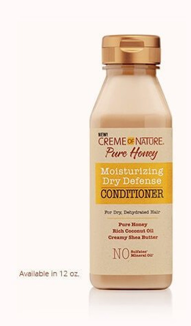 Creme of Nature Pure Honey Moisturizing Dry Defense Conditioner 12 oz.