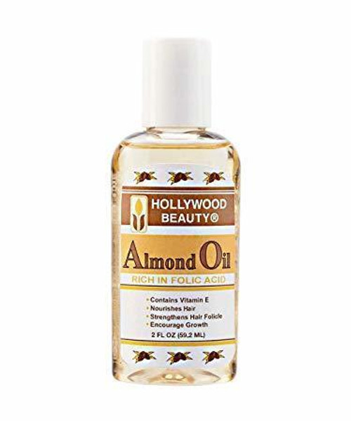 Hollywood Beauty Almond Oil 2 oz.
