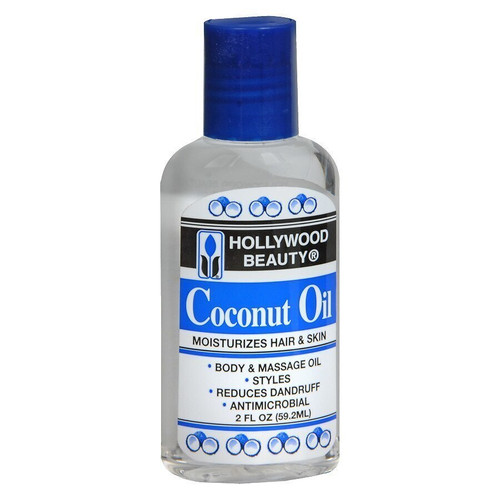 Hollywood Beauty Coconut Oil 2 oz.