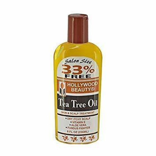 Hollywood Beauty Tea Tree Oil 8 oz.