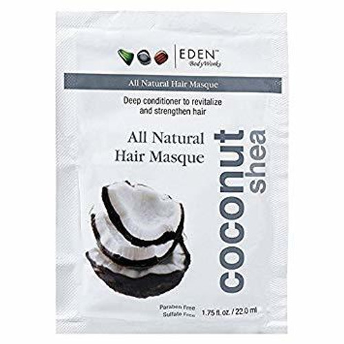 Eden-ABS Coconut Shea Hair Masque 1.75 oz.