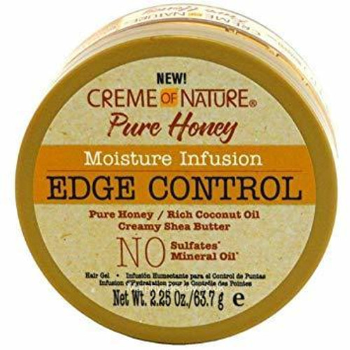 Creme of Nature Pure Honey Moisture Infusion Edge Control 2.25 oz.