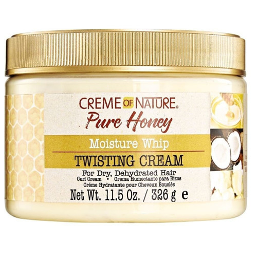 Creme of Nature Pure Honey Moisture Whip Twisting Cream 11.5 oz.