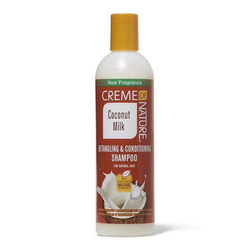 Creme of Nature Coconut Milk Detangling & Conditioning Shampoo 12 oz.