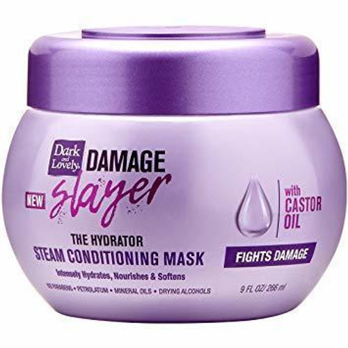 Dark and Lovely Damage Slayer Steam Conditioning Mask 10 oz.