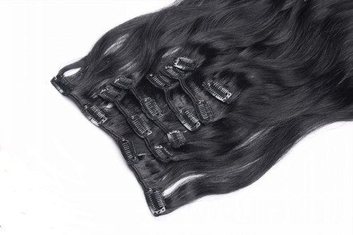 European Straight Bundle with clips