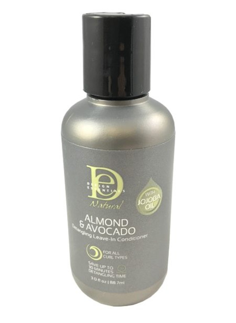 Design Essentials Natural Almond & Avocado Detangling Leave-in Conditioner 3 oz.