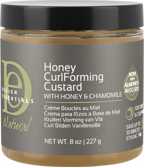 Design Essentials Honey Curl Forming Custard with Honey & Chamomile 8 oz.