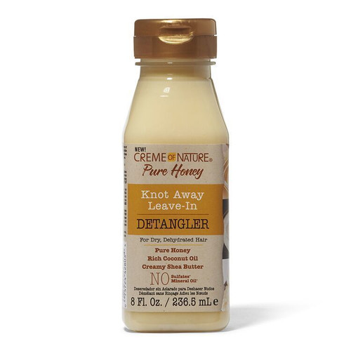 Creme of Nature Pure Honey Knot Away Leave-In Detangler  8 oz.