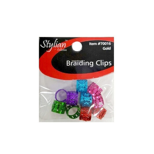 Stylian Braiding clips assorted colors