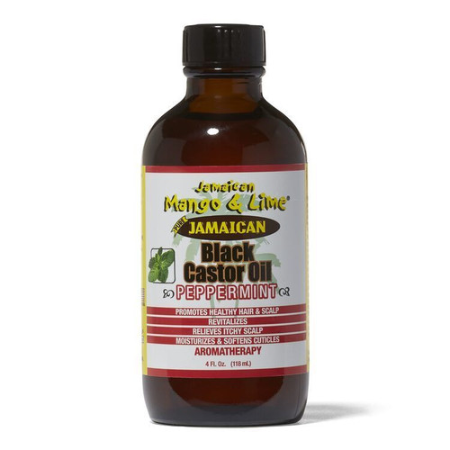 Jamaican Black Castor Oil Peppermint 4 oz.