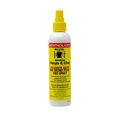 Jamaican No More Itch Grow Spray 8 oz.
