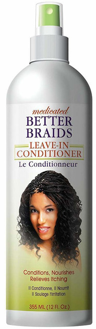 Better Braids Medicated Leave-In Conditioner 12 oz.
