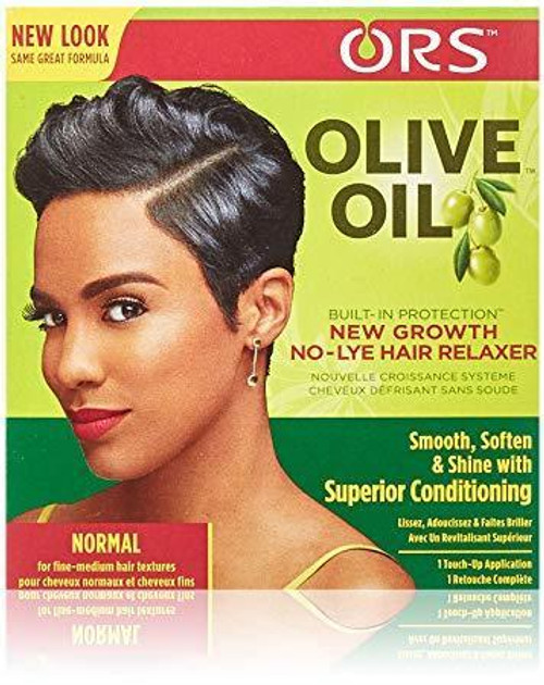 ORS Olive Oil New Growth No-Lye Hair Relaxer Normal