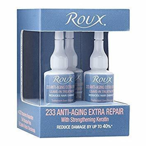 Roux Leave-In Treatment Anti-Aging Extra Repair (3 applications) 0.50 oz.