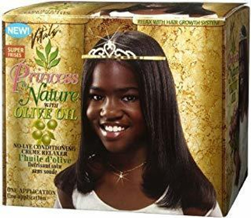 Vitale Princess by Nature with Olive Oil No-Lye Conditioning Creme Relaxer Super Press