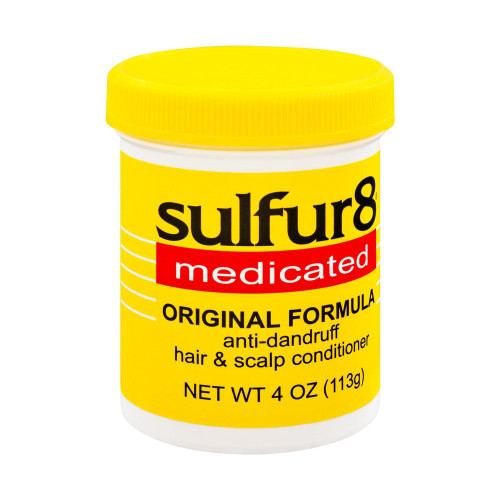 Sulfur 8  Medicated Original Formula anti-dandruff hair & scalp Conditioner 4 oz.