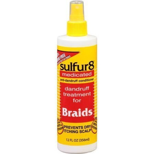 Sulfur 8 Dandruff Treatment for Braids 12 oz.