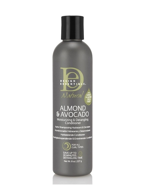 Design Essentials Natural Almond & Avocado Moisturizing & Detangling Conditioner 8 oz.