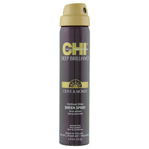 Chi Deep Brilliance Olive & Monoi Sheen Spray 2.6 oz.