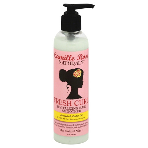 Camille Rose Fresh Curl Revitalizing Hair Smoother Avocado & Castor Oil 8 oz.