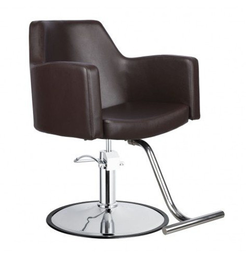 Venturi Styling Chair in Mocha Barber Beauty Salon Equipment in Mocha