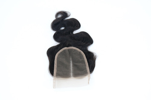 4 by 4 Closure Body Wave with Middle Part