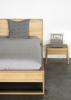 Oak Air Bedside Table Modern Nightstand