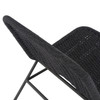 Blackout Outdoor Rope Armless Lounge Chair