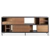 Teak Oscar Sideboard Credenza Storage Cabinet