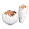 Tamarind Wood Organic Bowl Small - White