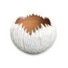 Tamarind Wood Organic Bowl Large - White