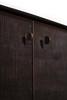 "Teak Grooves Sideboard Media Buffet Cabinet 60"""