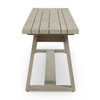 Solano Teak Outdoor Dining Bench