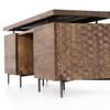 Calypso Carved Wood Desk