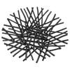Bethe Stick Bowl Centerpiece - Black