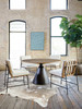 Zack Dining Table - Light Brushed