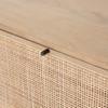 Bondi Cane Filing Cabinet - Natural Wood