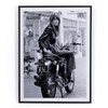 Françoise Hardy On Bike By Getty Images