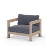 Kendra Outdoor Chair, Washed Brown