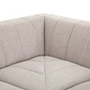 Milagro Channeled 5-PC Laf Chaise Sectional