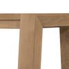 Capra Dining Bench-Light Oak Resin