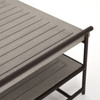 Ledger Outdoor Coffee Table - Grey