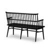Aspen Dining Bench - Black